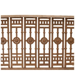 Anglo-Indian Balustrades and Fixtures
