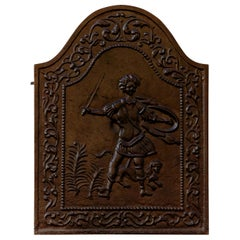 19th Century Iron Fire Place Screen