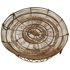 19th Century Iron Fruit Basket
