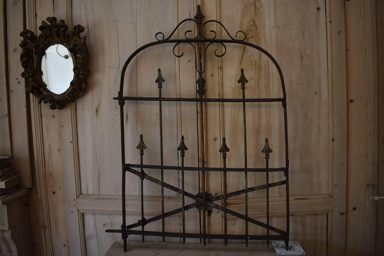 19th Century Iron Gate For Sale 6
