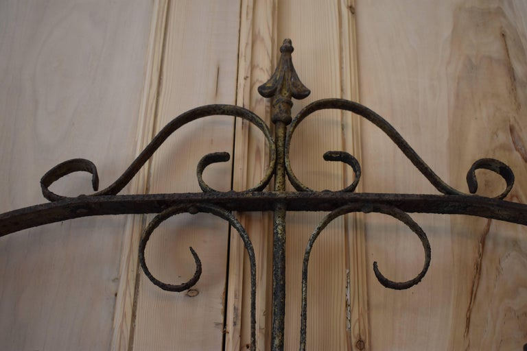 19th Century Iron Gate For Sale 2