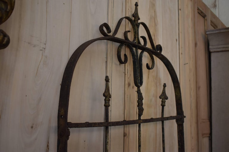 19th Century Iron Gate For Sale 5