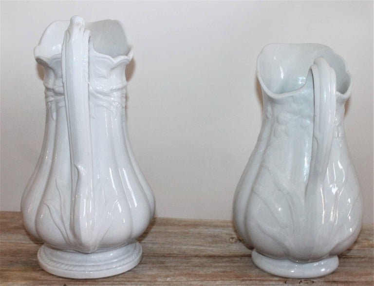 Other 19th Century Ironstone Wheat Water Pitchers For Sale