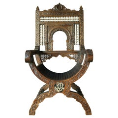 19th Century Islamic Throne Chair