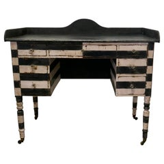 19th Century Italian Baroque Painted Console Side Table
