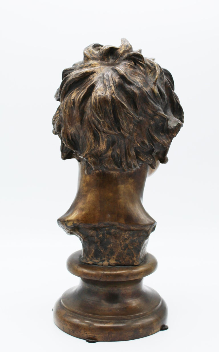 19th Century Italian Bronze Sculpture of Young Boy Signed by Vincenzo Gemito 9
