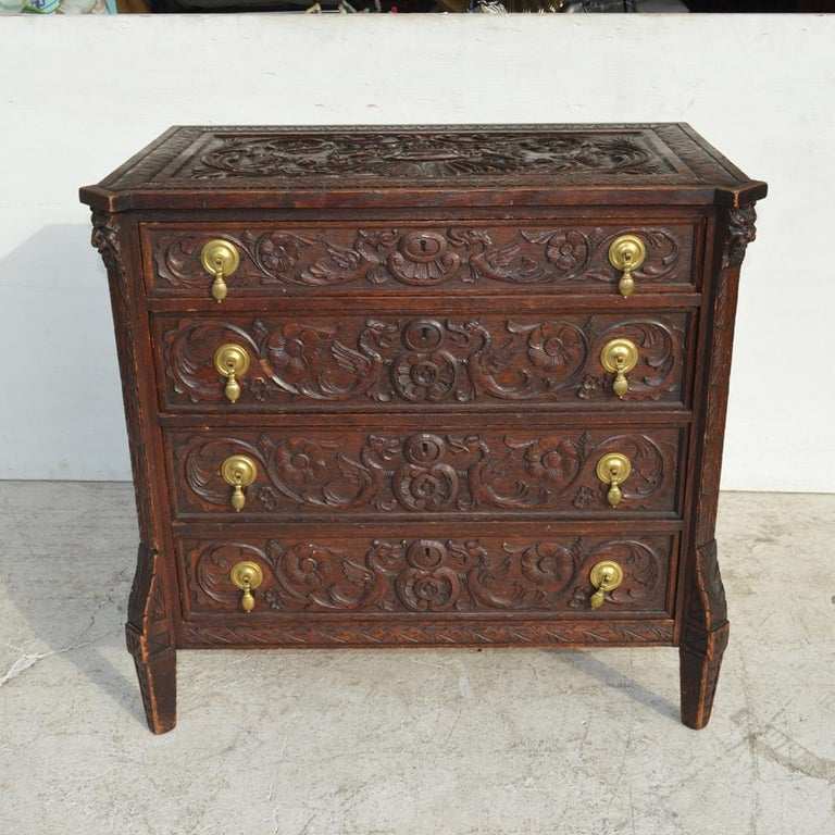 19th century Italian Renaissance Revival dresser