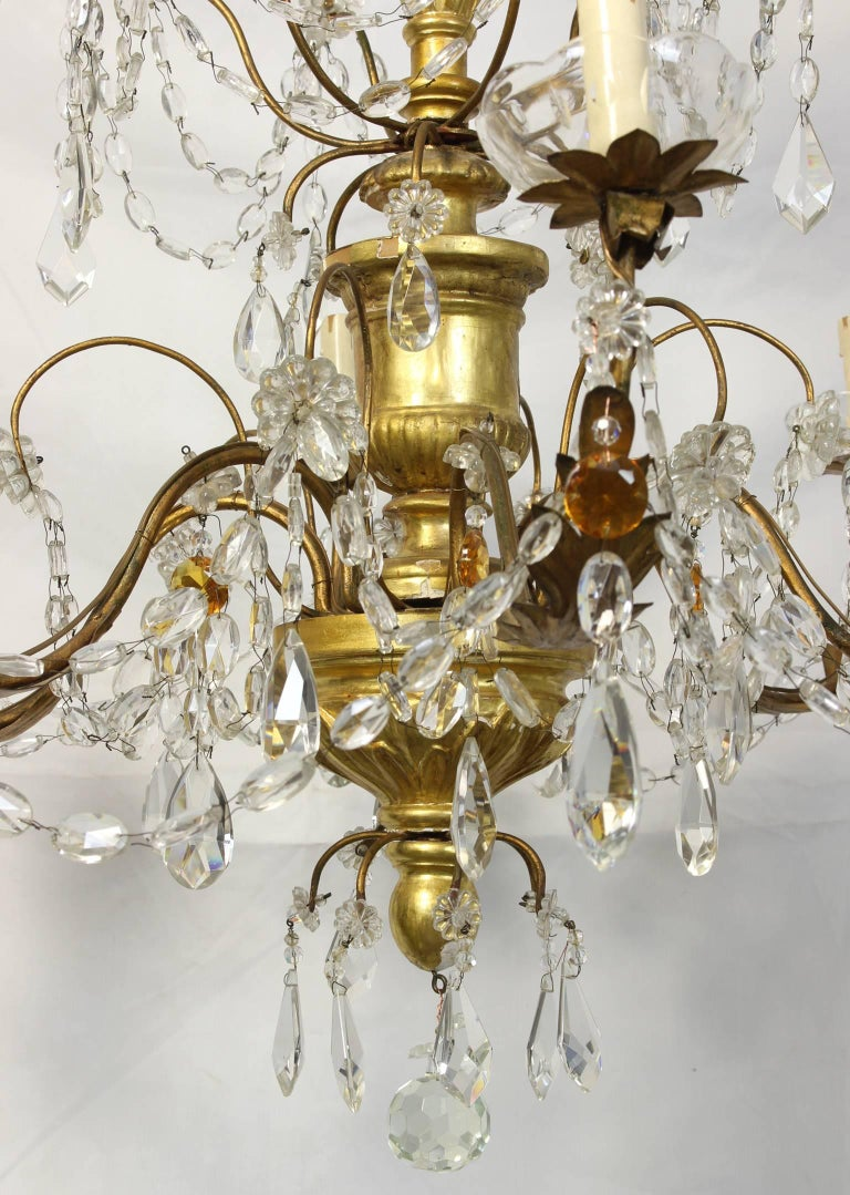 19th Century Italian Chandelier For Sale 4