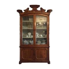 19th Century Italian Cherrywood Cabinet