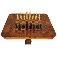 19th Century Italian Chess Set