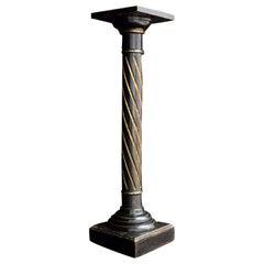 19th Century Italian Column Pedestal