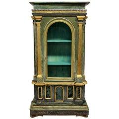 19th Century Italian Curiosity Cabinet