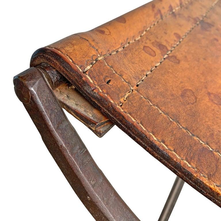 19th Century Italian Curule Stool For Sale 5