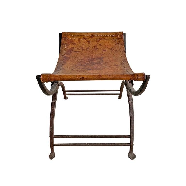 19th Century Italian Curule Stool For Sale 1