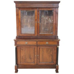 19th Century Italian Empire Cherrywood Sideboard or Buffet, 1820s