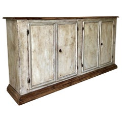 19th century Italian four door Sideboard