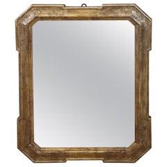 19th Century Italian Gilded Wood Wall Mirror