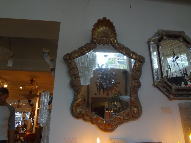 19th Century Italian Giltwood Mirror For Sale 3