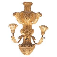 19th Century Italian Gilt Wood Sconce