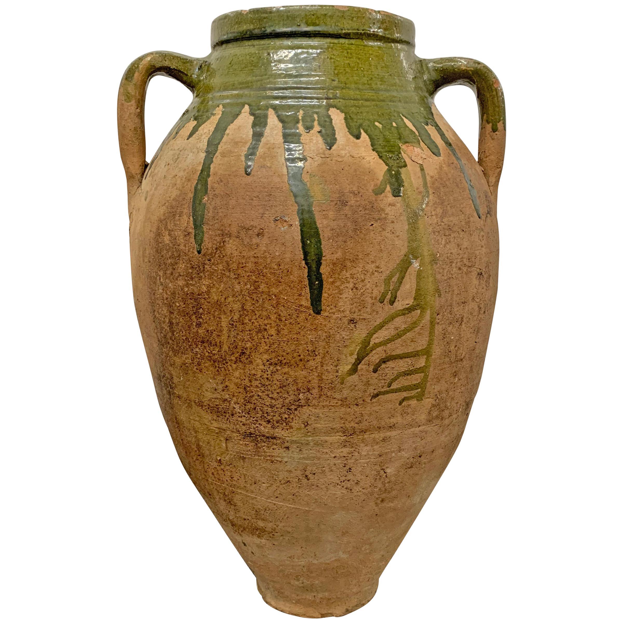 19th Century Italian Glazed Jar