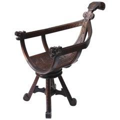 19th Century Italian Gondola Chair