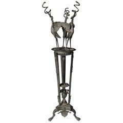 19th Century Italian Grand Tour Oil Lamp