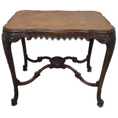 19th Century Italian Hand Carved Center Table