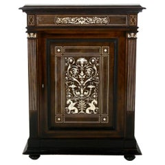 19th Century Italian Inlaid Cabinet