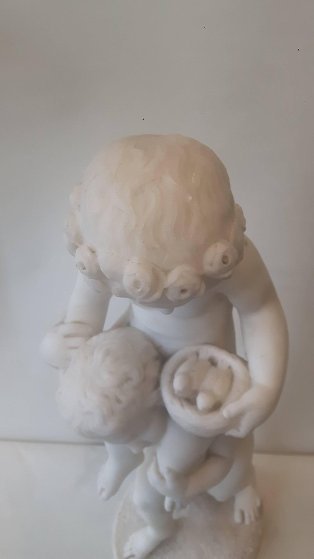 Bohemian 19th Century Italian Marble Group For Sale