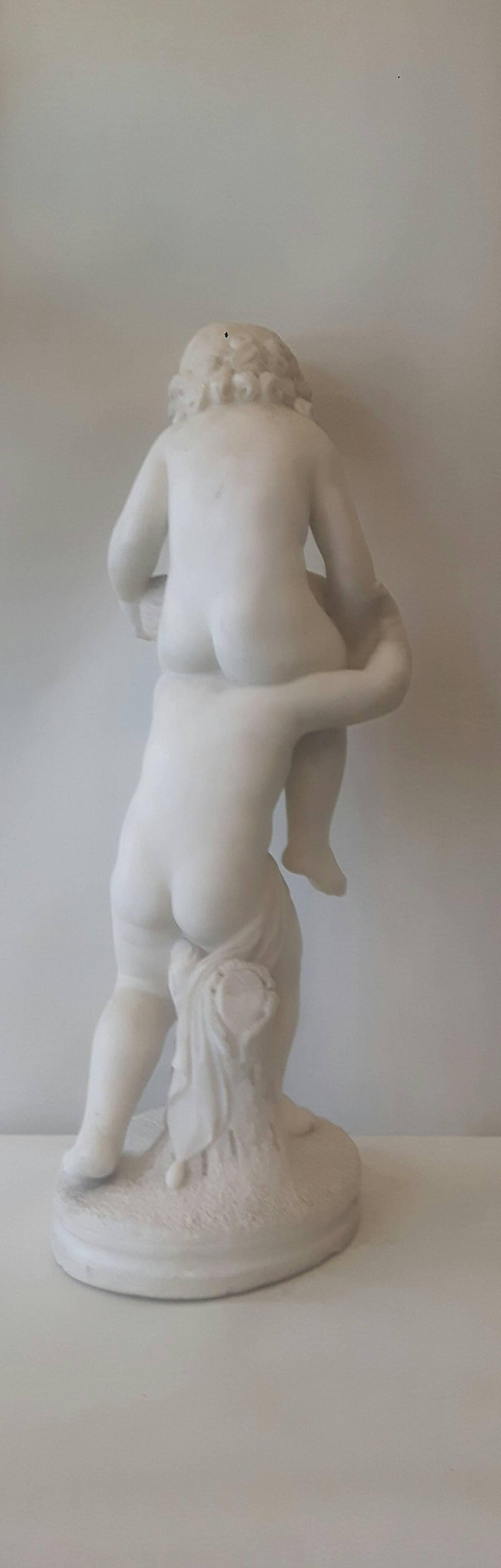 19th Century Italian Marble Group For Sale 2