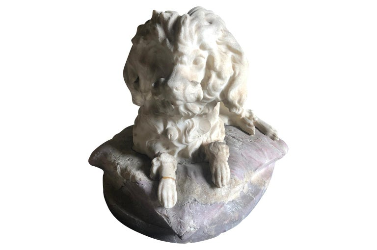19th Century Italian Marble Statue For Sale 2
