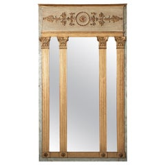 19th Century Italian Neoclassical Pier Mirror