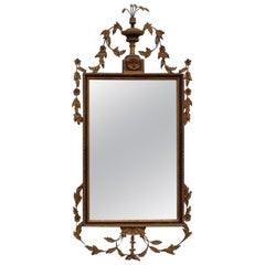 19th Century Italian Neoclassical Style Giltwood Mirror