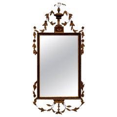 19th Century Italian Neoclassical Style Giltwood Mirror