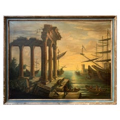 19th Century Italian Oil on Canvas Painting