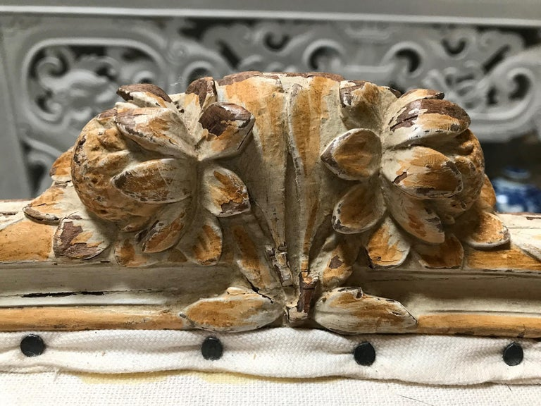19th Century Italian Rococo Sofa For Sale 1