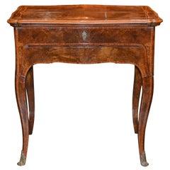 19th Century Italian Tray Top Writing Table