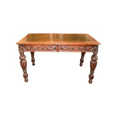 19th Century Italian Two-Drawer Desk or Writing Table