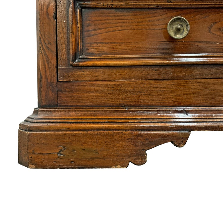 19th Century Italian Walnut Chest of Drawers For Sale 9