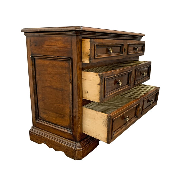 19th Century Italian Walnut Chest of Drawers For Sale 3