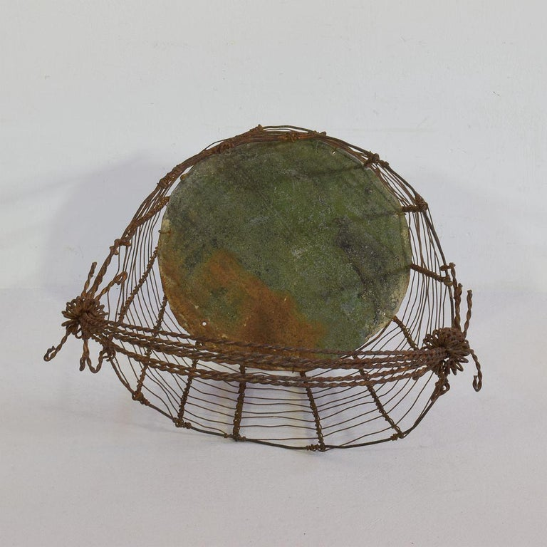 19th Century Italian Wirework Basket For Sale 6