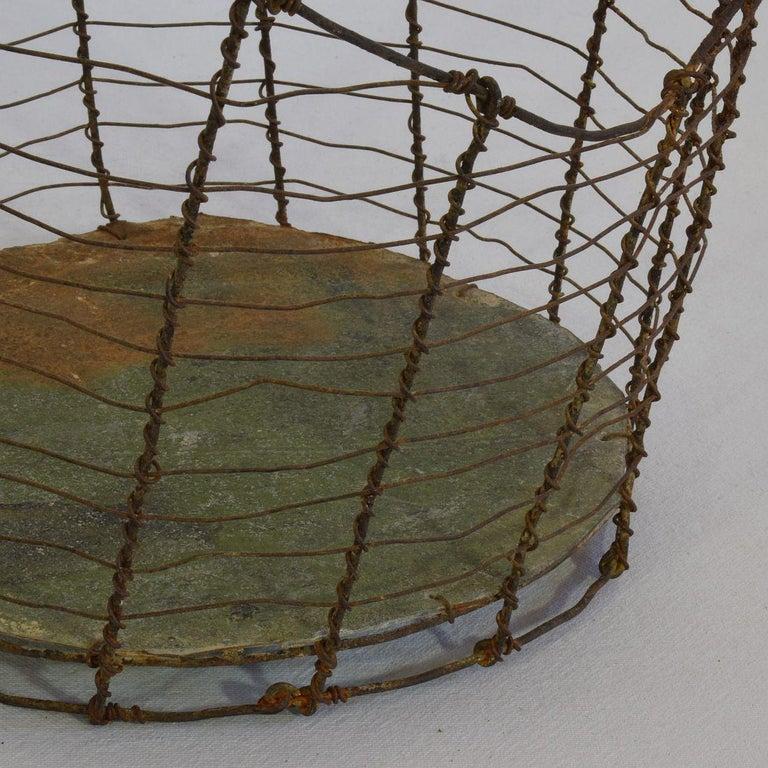 19th Century Italian Wirework Basket For Sale 10