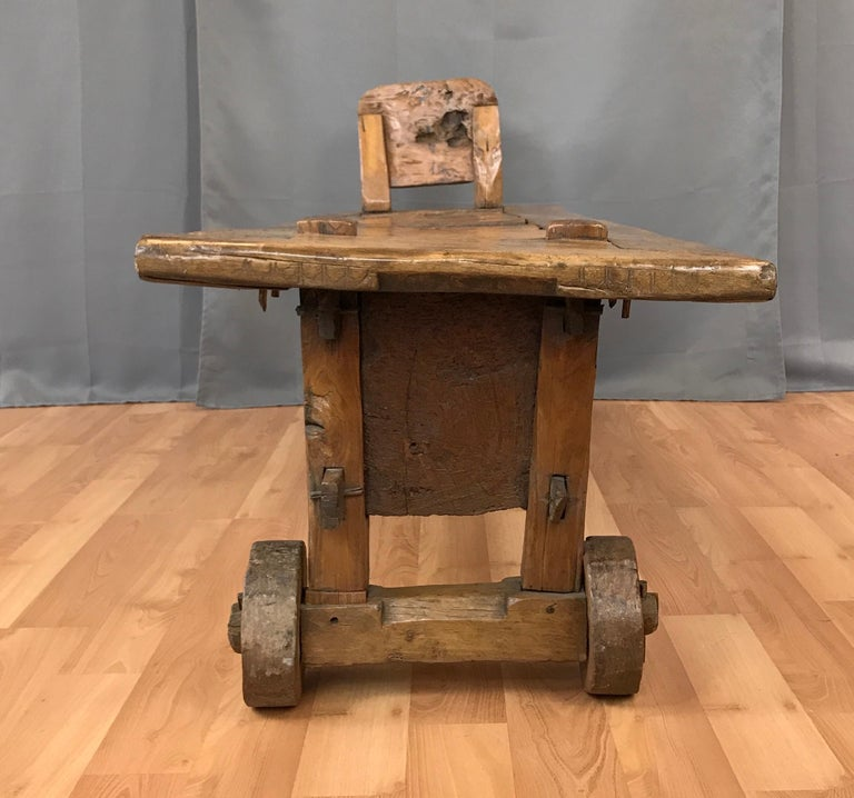 Stupendous 19Th Century Italian Work Bench Coffee Table At 1Stdibs Onthecornerstone Fun Painted Chair Ideas Images Onthecornerstoneorg