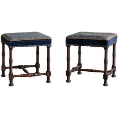 19th Century Jacobean Revival Stools