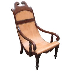 19th Century Jamaican Campeche / Planter Chair
