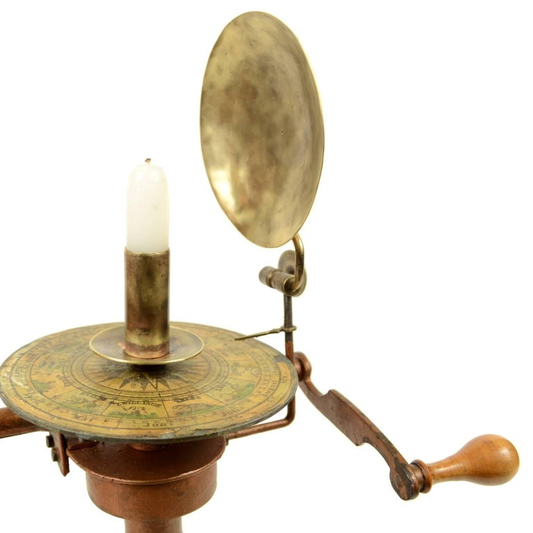 19th Century Jan Felkl Brass Czech Orrery, 1860s For Sale 1