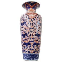 19th Century Japanese Artistic Imari Large Vase in Hand Painted Porcelain