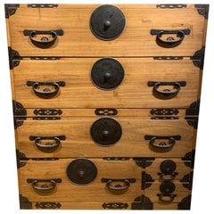 19th Century Japanese Clothing Chest