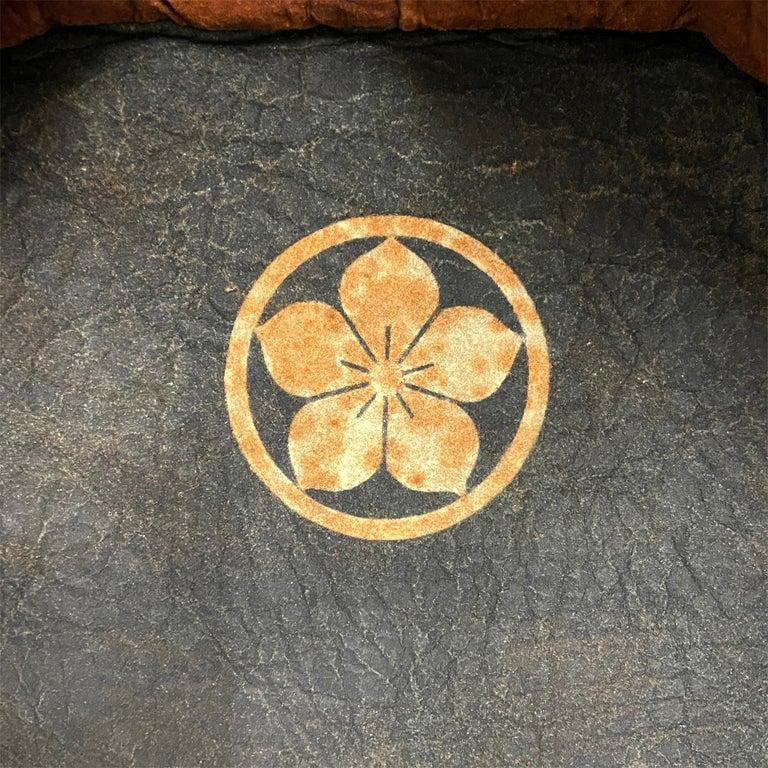 19th Century Japanese Firemen's Coat on Custom Mount For Sale 3