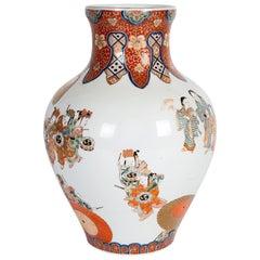 19th Century Japanese Fukagawa Vase